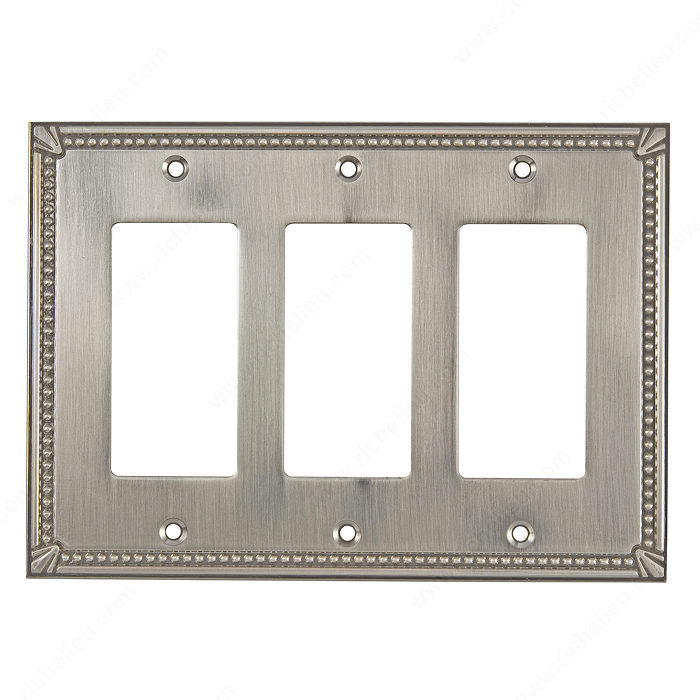 Switch plate 3 Decora - Traditional Style-1