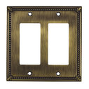 Switch plate 2 Decora - Traditional Style