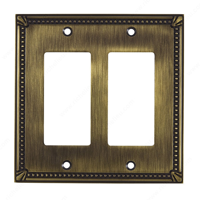Switch plate 2 Decora - Traditional Style-1