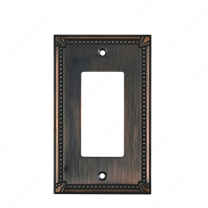Switch plate 1 Decora - Traditional Style-1
