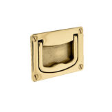 Traditional Recessed Brass Pull - 0632