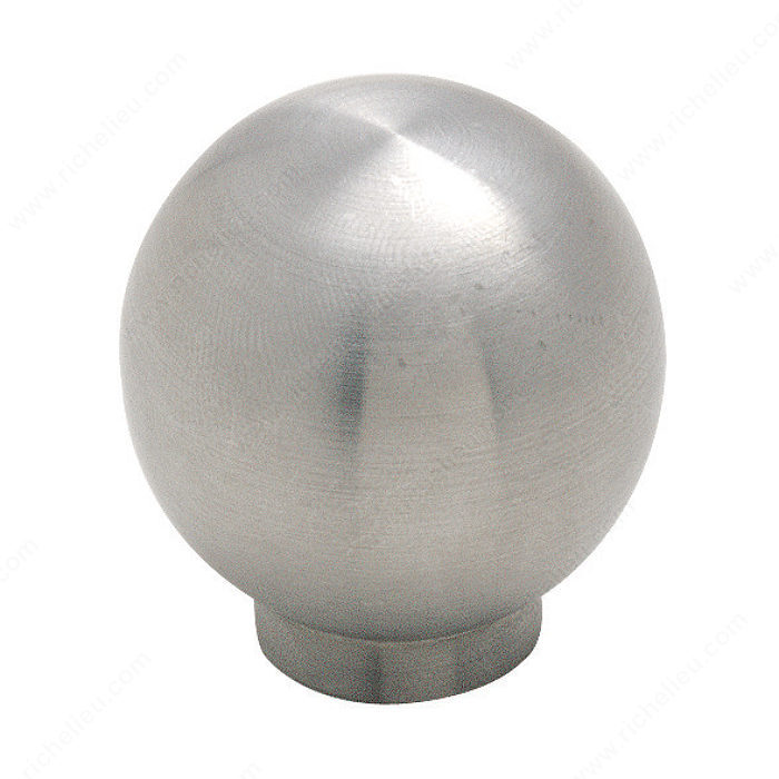 Contemporary Stainless Steel Knob - 19007-1