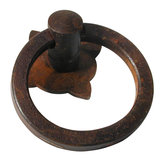 Traditional Forged Iron Ring Pull - 2404