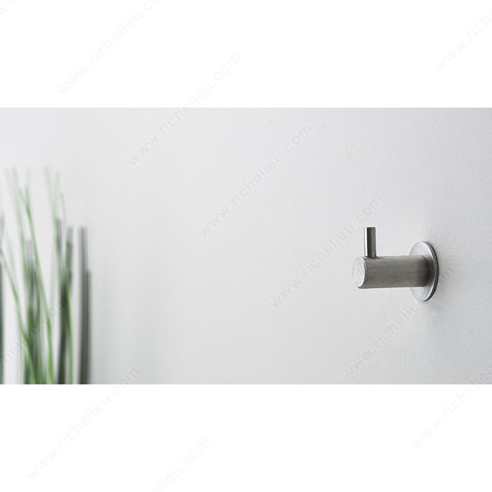 Contemporary Stainless Steel Hook - 51127-4