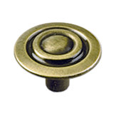 Traditional Metal Knob - 594