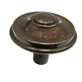 Transitional Brass Knob - 6134