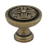 Traditional Brass Knob - 044