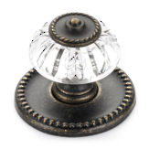 Eclectic Metal and Acrylic Knob - 1606