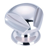 Contemporary Brass Knob - 509