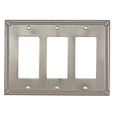 Switch plate 3 Decora - Traditional Style